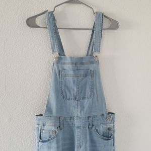 Wax Jeans Distress overalls